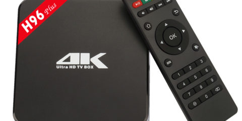 Android TV BOX H96 Plus
