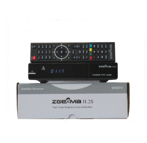 Zgemma H.2S Two Dvb-S2 Satellite receiver